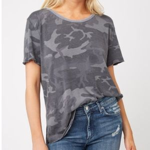 Free People We the Free Camo Oversized Tee M